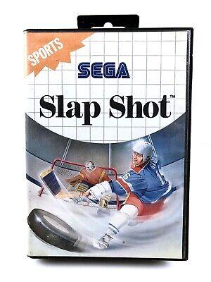 Sega Master System Spiel • Slap Shot • Guter Zustand #M10