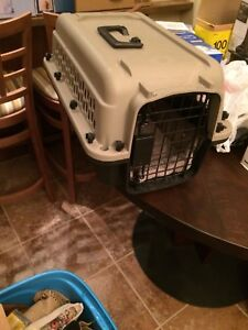 Small Dog Kennel for sale $20 works for airport travel