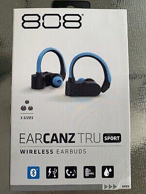 808 EarCanz Tru Sport Wireless Bluetooth Earbuds Sport