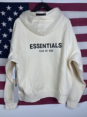 Fear Of God Essentials Hoodie Small S NWT 100% Authentic