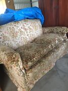 Two seater lounge silk! Feather n down pillows  South Tamworth Tamworth City Preview