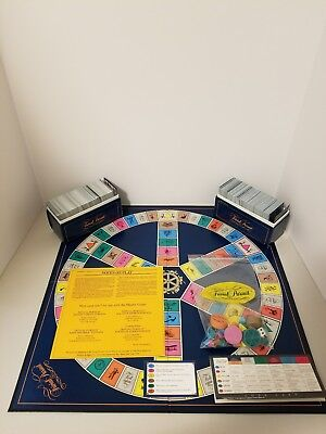 Trivial Pursuit Master Game Genus Edition 1981 100  Complete  7 Vintage    A4 18