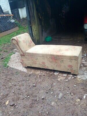 Antiques Chaise Lounge Restoration Project