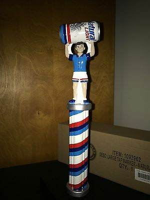 RARE New Beer Tap Handle Natural Light Marker Keg Can Budweiser Anheuser Busch