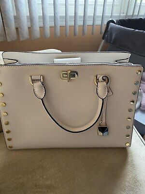 Michael Kors purse satchel . Genuine Leather. Excellent Condition! White