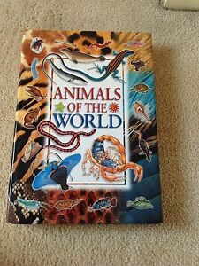Hardback animals of the world book Beverley Park Kogarah Area Preview