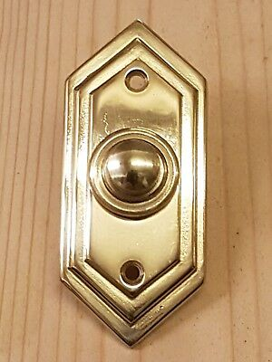 Art Deco style Door Bell press