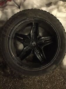 """Need 1 or selling 3 17"""" Crave Wheels"""
