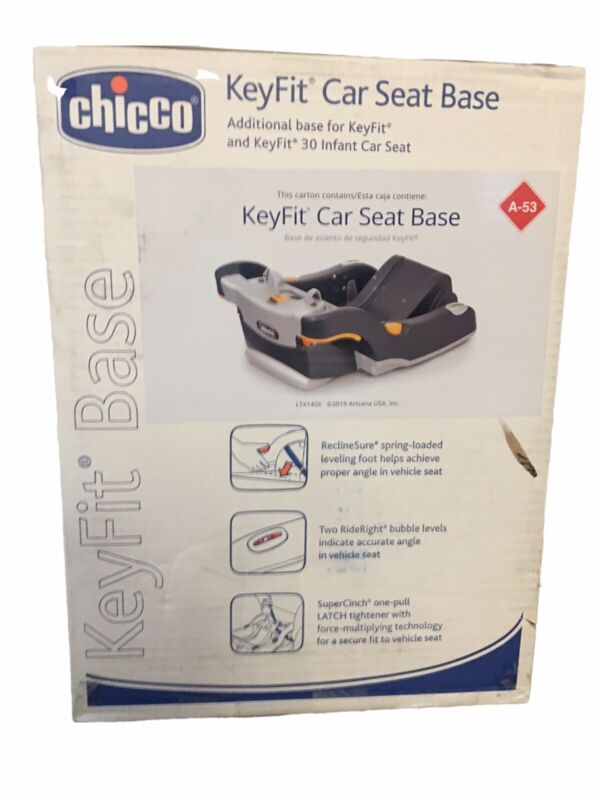 Chicco Keyfit & Keyfit 30 Infant Car Seat Additional Base June 2026 New Open Box