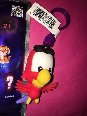 Disney Key Ring (NeW Figural Bag Clip DISNEY ALADDIN Series 21 * IAGO * Parrot RaRe Key Ring )