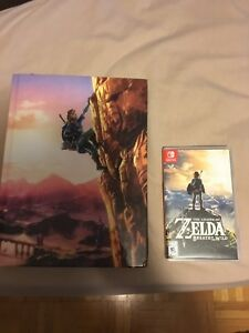 Zelda breath of the collectors book and game
