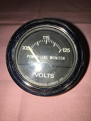 Power-line Monitor 105 - 125 Volt 3770 548 Rare