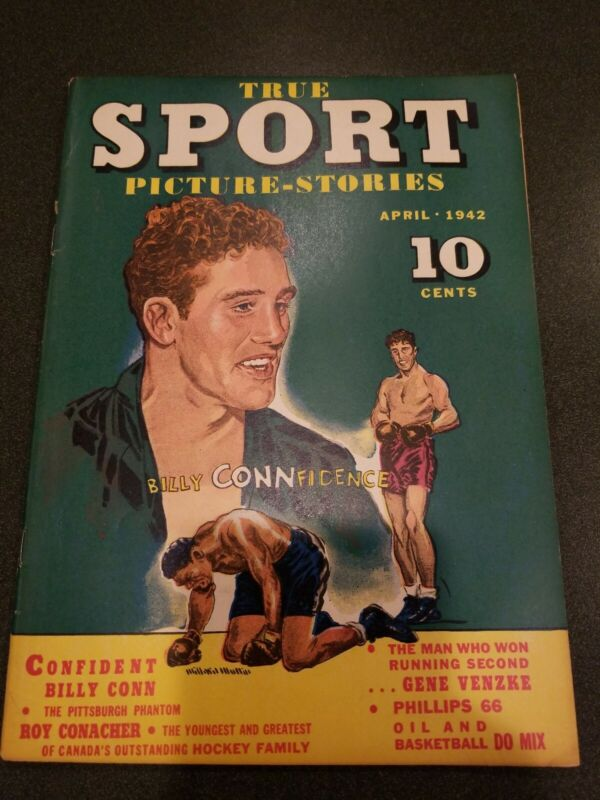 1942 True Sport Picture Stories April 1942