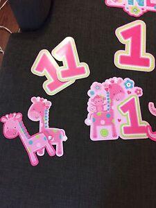Girls 1st Birthday party decor  Kitchener / Waterloo Kitchener Area image 2