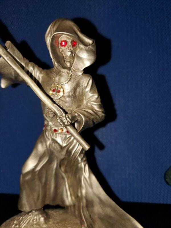 Halloween Grenadier Grim Reaper Skeleton Pewter Figure Rawcliffe RF1250 Handmade