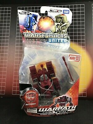 Transformers United WARPATH mosc Lot