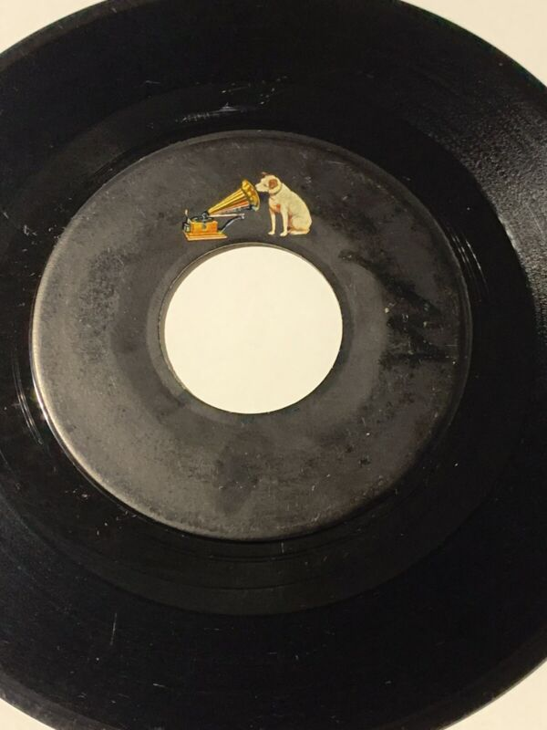 Rare Elvis It's Now Or Never / Mess Of Blues RCA Mistake Pressing - No Title