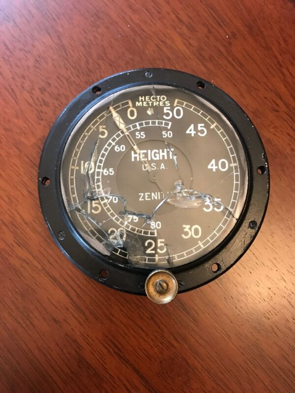 Zenith 1918 Altimeter Airplane
