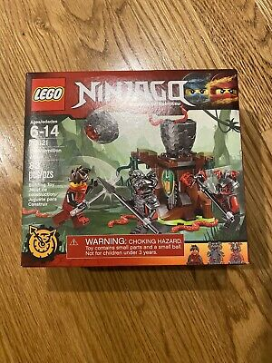 LEGO Ninjago Set 70621 The Vermillion Attack Kai, Rivett & Slackjaw NEW & Sealed
