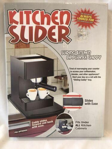 kitchen slider sliding kitchen appliance caddy counter
