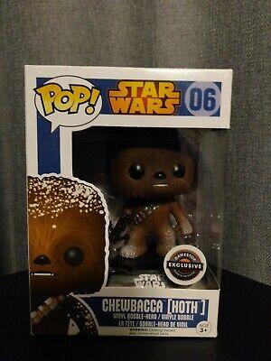 Funko Pop! Star Wars Chewbacca Hoth Empire Strikes Back Gamestop Disney Pop 06