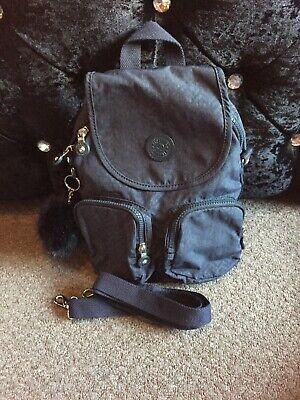 kipling  firefly  N backpack/across the shoulder bag In Navy And Pom Pom Monkey