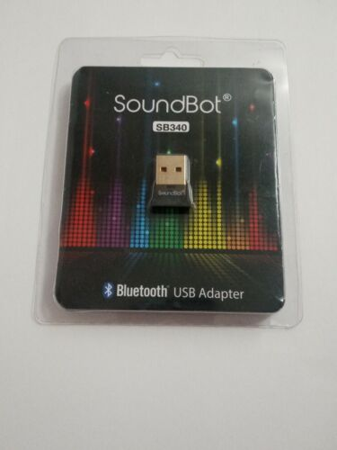 SoundBot SB340 Universal Plug and Play Bluetooth 4.0 USB Ada