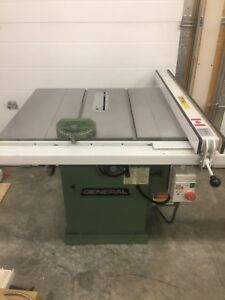 GENERAL - CANADIAN MADE 3HP CABINET SAW - TABLE SAW