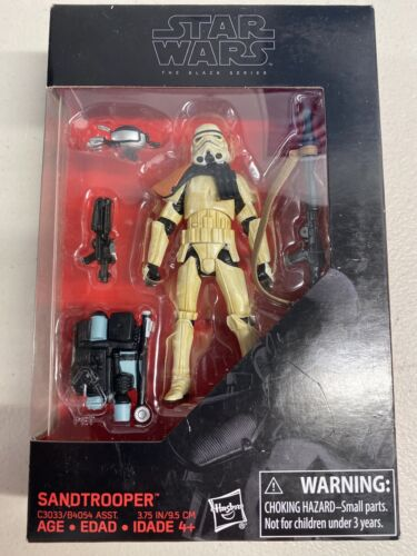 "Sandtrooper-WALMART 3 3//4/"" Exclusive D-27 Star Wars Black Series"