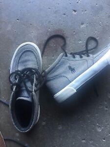 Mint condition boys Ralph Lauren Polo shoes sz 3.5 and sz 4