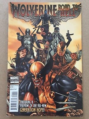 WOLVERINE ROAD TO HELL #1-SHOT VF (or better) 2010 X-23 DEADPOOL X-FORCE