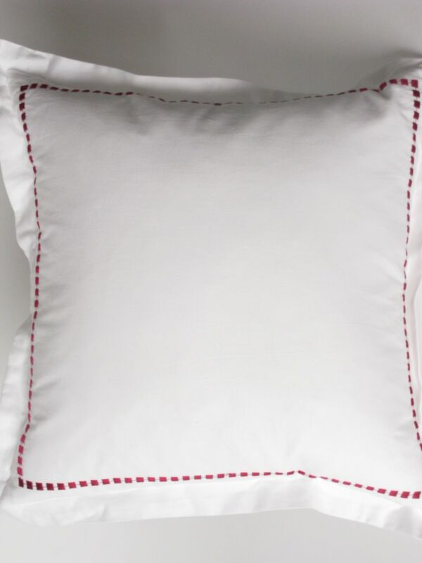 Charisma BLOOM embroidered deco pillow NWT