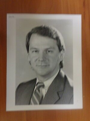 Vintage Glossy Press Photo Wbz Tv News Director Stan Horghins Channel 4
