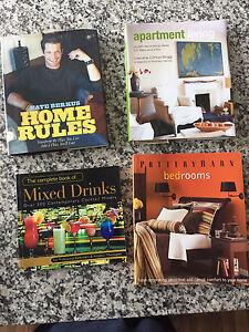 Home decorating and interior design and ESL books