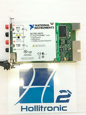 National Instruments Ni Pxi-4072 6 12 Digit Flexdmm Used