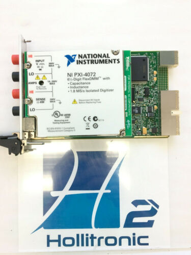 National Instruments NI PXI-4072 6 1/2 Digit FlexDMM *USED*