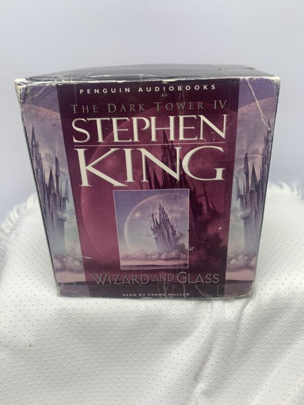 "Stephen King THE DARK TOWER IV ""WIZARD AND GLASS"" Audio Book Cassette"