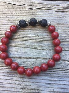 Aromatherapy Essential Oil Bracelets with Lava rock London Ontario image 1
