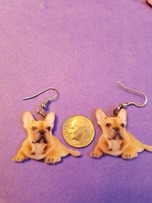 French Bulldog lightweight fun earrings  jewelry FREE SHIPPING! Design 1 of 2 Old English Sheepdog Earrings