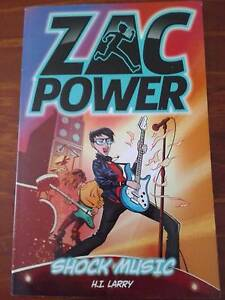 ZAC POWER BOOKS $2 EACH - GOOD CONDITION - BORONIA HEIGHTS 4124 Boronia Heights Logan Area Preview