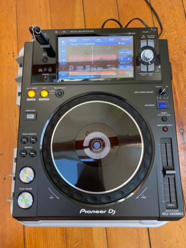 Pioneer DJ XDJ-1000mk2 Multi Player with Nanuk 930 hardshell case