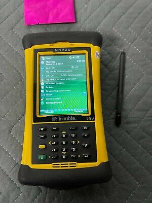 Trimble Nomad 6gb Survey Gps Data Collector W Stylus