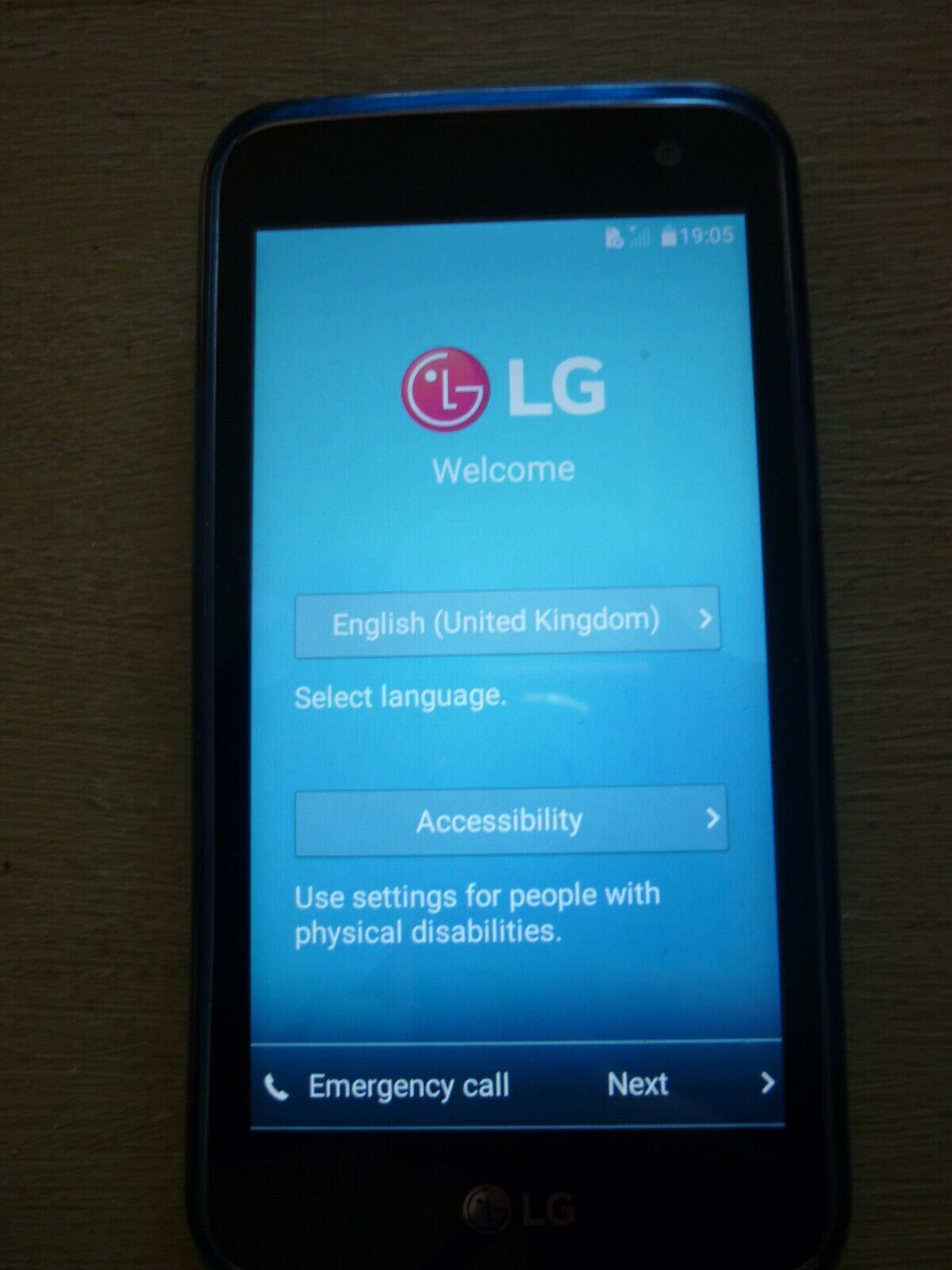 Android Phone - LG  K4  ANDROID  PHONE