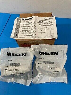 New Two - Whelen 500 Series Lin6 Linear 6 Super Led Warning Lighthead Kit Slkdbb