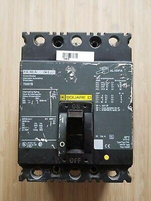 Square D 7006YB; AL100FA Circuit Breaker Interruptor segunda mano  Embacar hacia Mexico