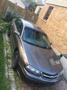 2001 Chevrolet impala; as is.