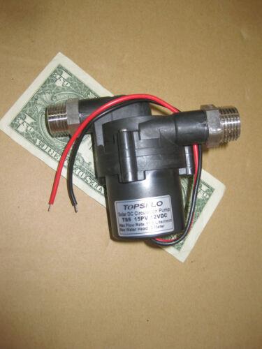 TOPSFLO TS5 - 15PV Solar Power Hot Water Circulation Pump