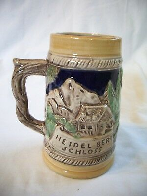 Dee Bee Co Japan Beer Stein Heidel Berg Schloss Ceramic
