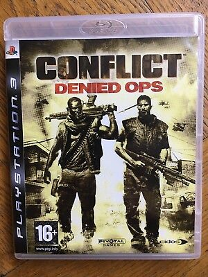 Conflict Denied Ops (unsealed) - PS3 UK Release New!, used for sale  Shipping to Nigeria
