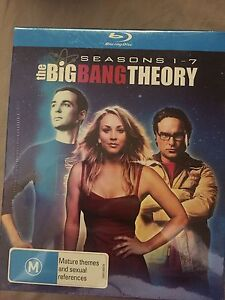 The Big Bang Theory season 1-8 blu-ray NEW Leanyer Darwin City Preview